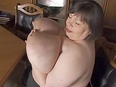 Biggest Mature German Tits