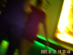 upskirt movie in disco - Berlin 3