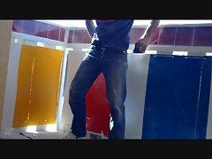 Horny Builder in Levis Jeans - Smoke &amp, Wank