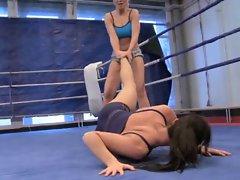 Lesbian Nude Fight Club 3