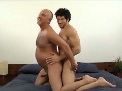 Muscled gay stud leo giamani fucking jake cruise bareback in old ass