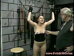 Slutty joleen babe wants some nipple pinching fuck action