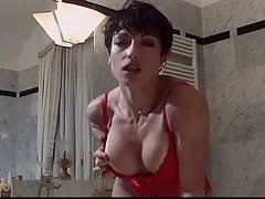 Horny big tits brunette riding huge boner for hardcore fun