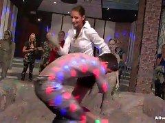 Massive Mud Fight in Sex Club Video