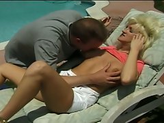 Hot blonde milf with a nice body drilled hard