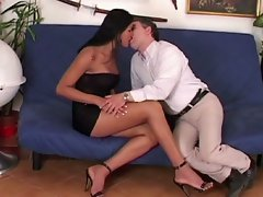 Shemale love 18- tranny nice babe drilled into a white dude ass !!