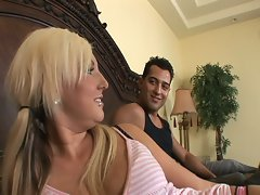 Hot milf chick kendra gets picked up by young guys