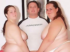 There's nothing like having two horny BBWs double team on your dick....