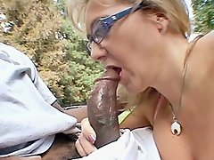 Up next is Wanda Lust getting cock cramming from a black dude. This...