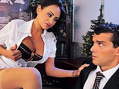 Is Christmas eve and Ramon is about to go home to celebrate. Claudia,...