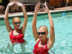 Synchronized swimming is a modern art that became popular at the turn...