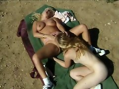 Take a good look at these two filthy blonde bimbos as they pleasure...
