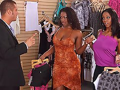 Aryanna and Erika are shopping in a clothing store when Danny, the...