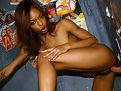 Marie Luv is back for another round of gloryhole action.  Last time...