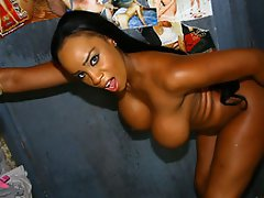 Sandi Jackman is a gorgeous black mama.  Tall and dark with huge...