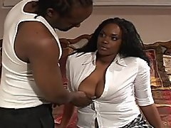 Black pimp Tony Eveready has done it again!  He leads busty coed babe...