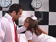 Busty blond nurse Tory Lane has got something other than medicine in...