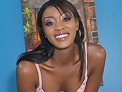 From head to toe, this ebony hottie has it all. Rayne spreads her...