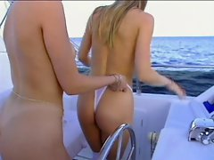 Jacqueline Lovell and Selena - They&,#039,re on a Boat!