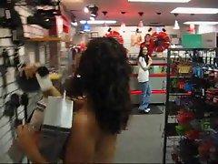 Funny Nude Shopper
