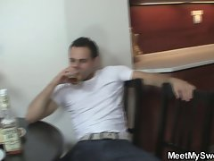 Perverted parents fuck their son&amp,#039,s GF