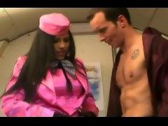 Horny air hostess p.3
