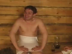 Russian Sauna Orgie
