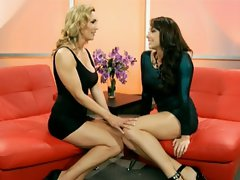 Chanel Preston and Tanya Tate hot babe on couch