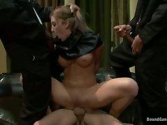 Amy Brooke got gang bang hardcore blowing action