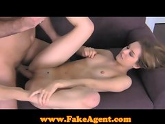 FakeAgent Amazingly hot model in casting