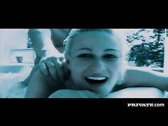 Sensual sex scene includes underwater fucking