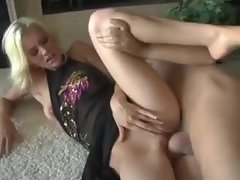Blonde looks flawless with a dick in her vagina