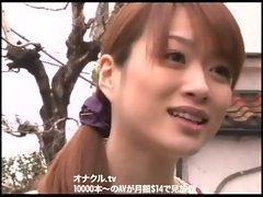 Japanese  Wife Naughty Chesty Hardcore fucking Bukkake Blow.