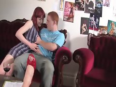 Redheads get there red bits out and decide to rub them together