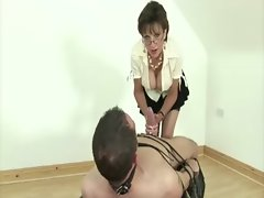 Mature slut lady sonia gets cock to play with all day long