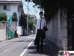 Milf Japanese Get Hardcore Fucked clip-17