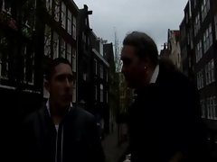 Lucky tourist gets to pick which whore he wants in Amsterdam