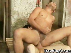 Sexy Cowboy papi s assfucking