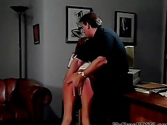 Hank Armstrong Plays With Skye Blue s Ass bdsm bondage slave femdom domination