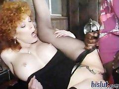This slut loves black cock