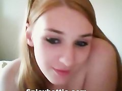Webcam Redhead with Boyfriend