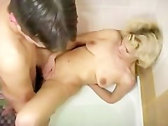 Russian Mother And Young Guy russian cumshots swallow