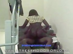 AFRICAN BITCH FUCKED IN PROJECT STAIRCASE