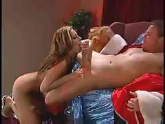 Jennifer Luv Hot Sex With Santy Clause
