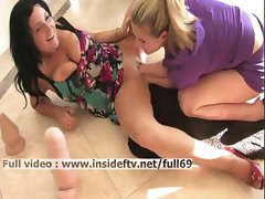Lilith _ hot brunette gets her pussy fisted with two hands