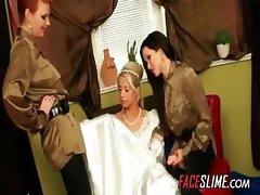Caught Masturbating On Her Wedding Day