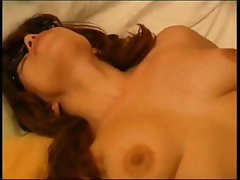 Russian housewife gives this young boy some head and a nice fuck