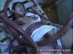 Tentacles Attack a Nurse!