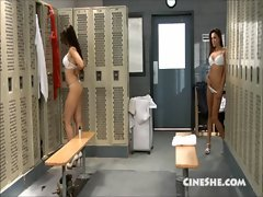 Celeste Star Katsuni Locker Room Seduction