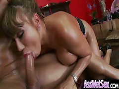 Big Butt Oiled Girl Get Anal Fucked clip-15